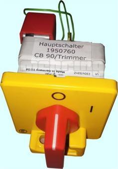 NAGEL ET CB 90/Trimmer93 Hauptschalter 230 V, 157333, F033-F2