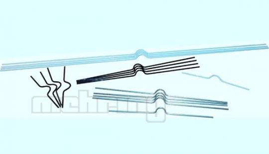 Kalenderaufhänger VE = 100 St. 200 mm | silber-matt NC