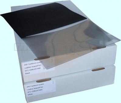 Fastbind Bindemappen standard, Vorderseite transparent